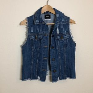 BDG > Jean Sleeveless Jacket > S-P